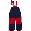 Finkid Toope lange broek Kinderen rood/blauw